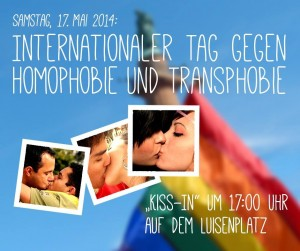Kiss-In in Darmstadt