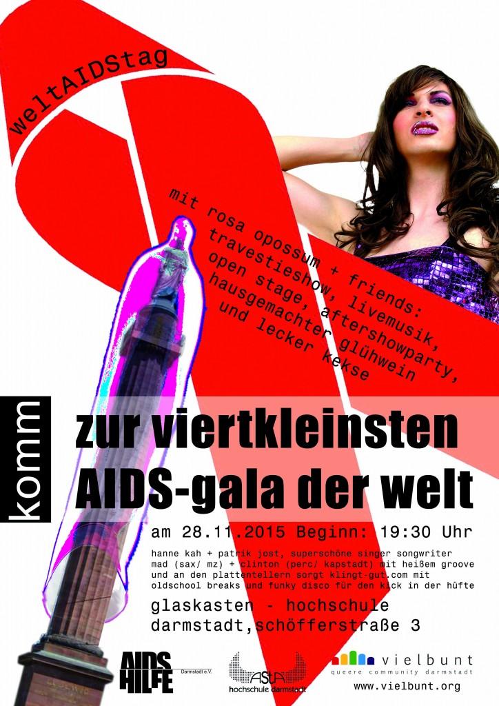 viertkleinste AIDS-Gala