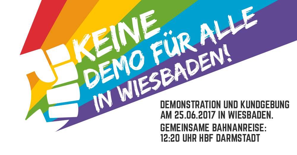 Keine Demo für Alle