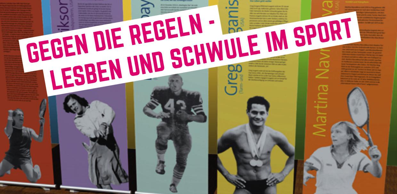 Ausstellung Lesben und Schwule im Sport
