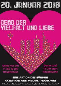 keine demo für alle in frankfurt