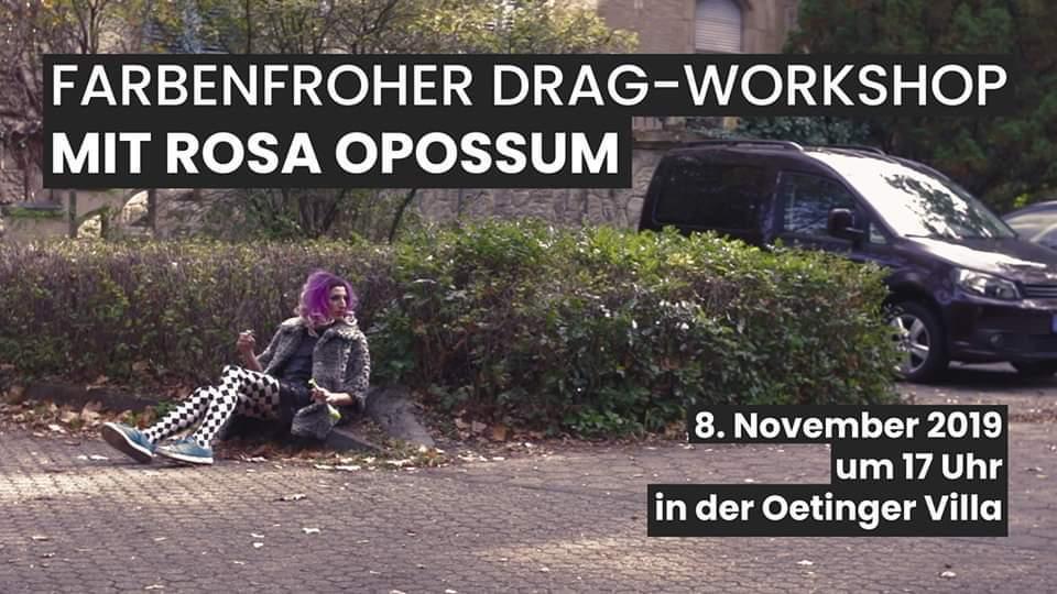 Drag Workshop Rosa